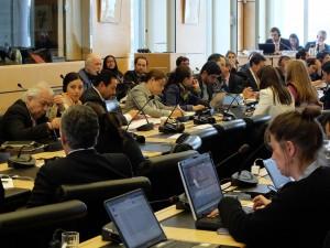 Der UN-Ausschuss während der Tagung in Genf